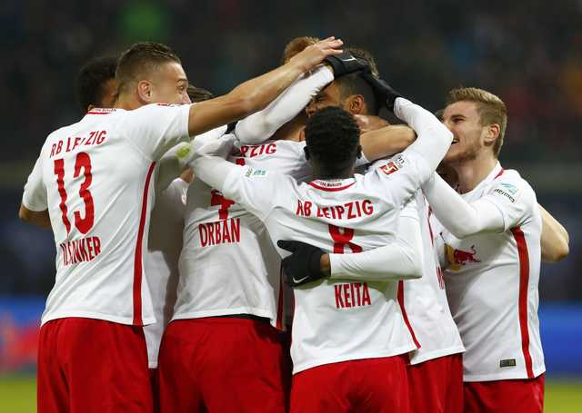 Bundesliga: Leipzig win after opposing keeper sent off in third minute