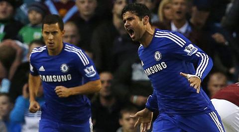 Striker Costa back in Chelsea team against Hull
