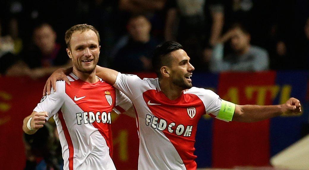Free-scoring Monaco thrashes Lorient 4-0 to go top of league