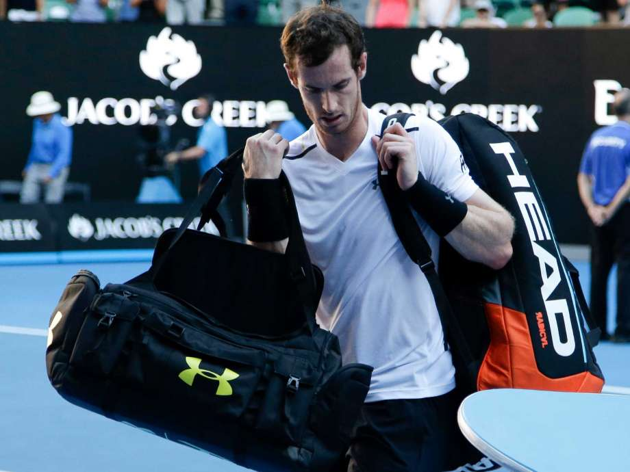 Day Of Upsets: Murray, Kerber make 4th-round exits in Australia