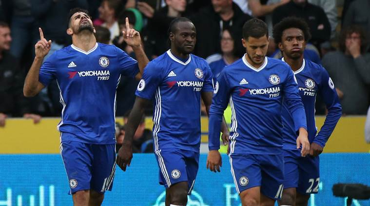 Chelsea stretch lead at top of table with win over Hull