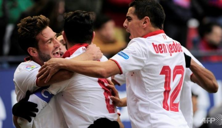 La Liga: Sevilla tops Osasuna to stay close to leader Real Madrid