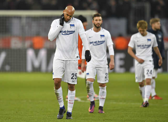 Bundesliga: Hertha Berlin stumbles in 3-1 loss to Bayer Leverkusen