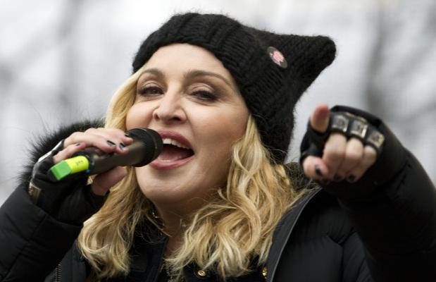 Madonna defends her anti-Trump speech at women's march