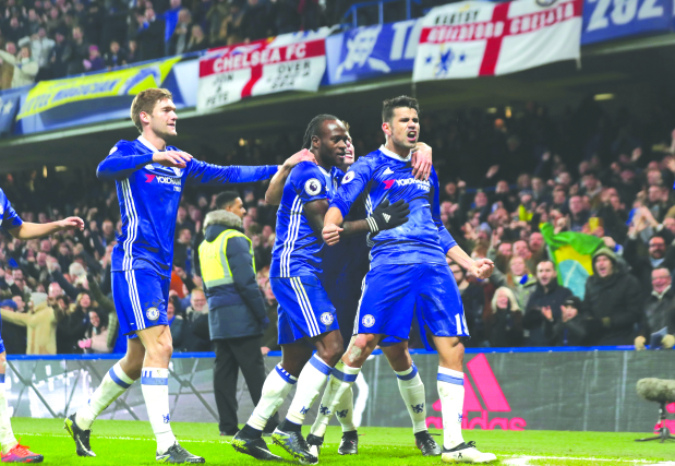 Costa shines as Chelsea rout Hull