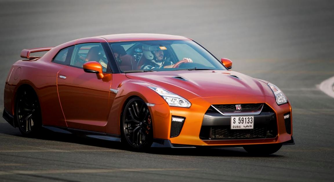 2017 Nissan GT-R Makes Middle East Debut