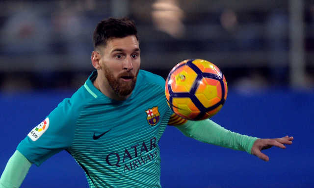 La Liga: Messi scores fifth goal in six games as Barcelona beats Eibar