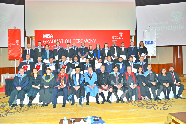 Business graduates honoured