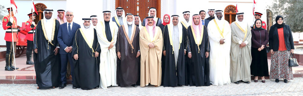 His Majesty pays tribute to Bahrainis