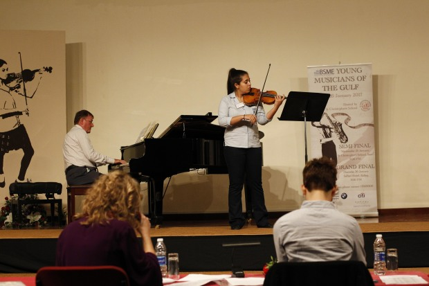 Young musicians vie for contest honours
