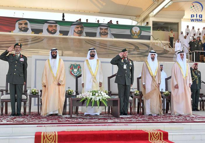 UAE Vice President attends military graduation ceremony