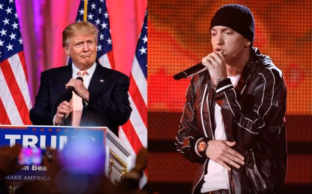 Eminem returns with new Trump attack