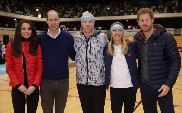 World News: In Pictures: Prince Harry bests William, Kate in London royal run