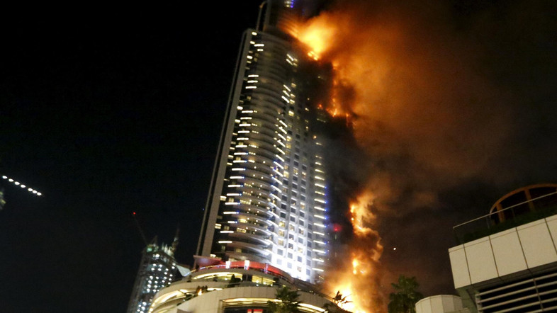 Dubai's Emaar to recover AED1.2 billion for hotel fire insurance claim