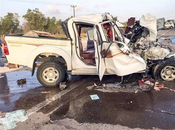 Five killed, one critically injured in horrific accident in Abu Dhabi