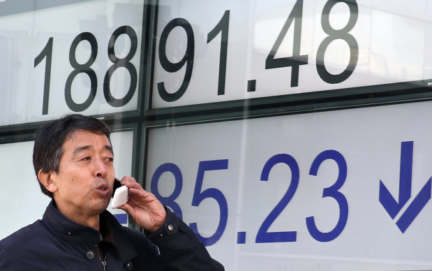 Asian stocks decline after Wall Street falls