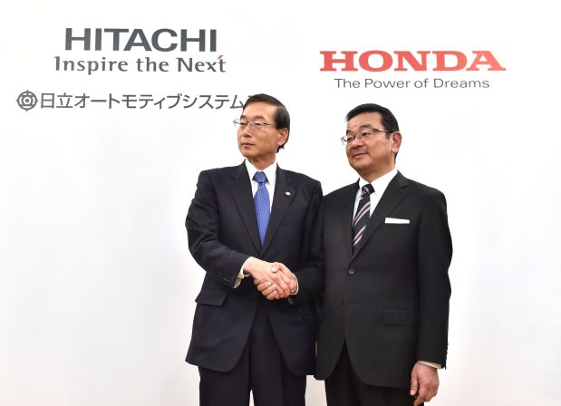 Honda, Hitachi Automotive to form EV motor joint venture