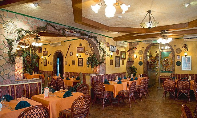 Señor Paco's for authentic Mexican dining experience