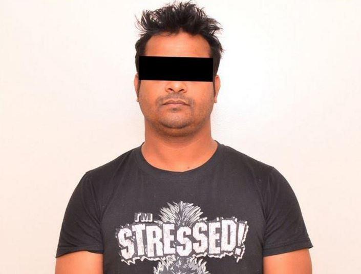Asian man caught filming women at shopping mall
