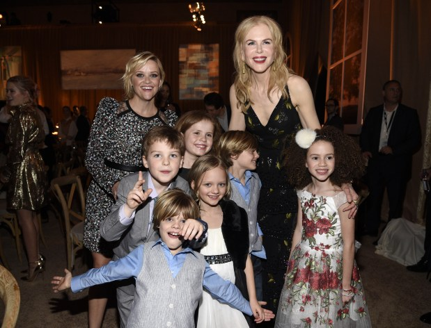 Witherspoon, Kidman debut female-centric 'Big Little Lies'