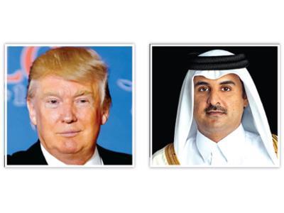 Qatari Amir, US President discuss regional developments