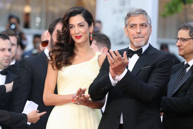 Amal Clooney pregnant with twins says family friend