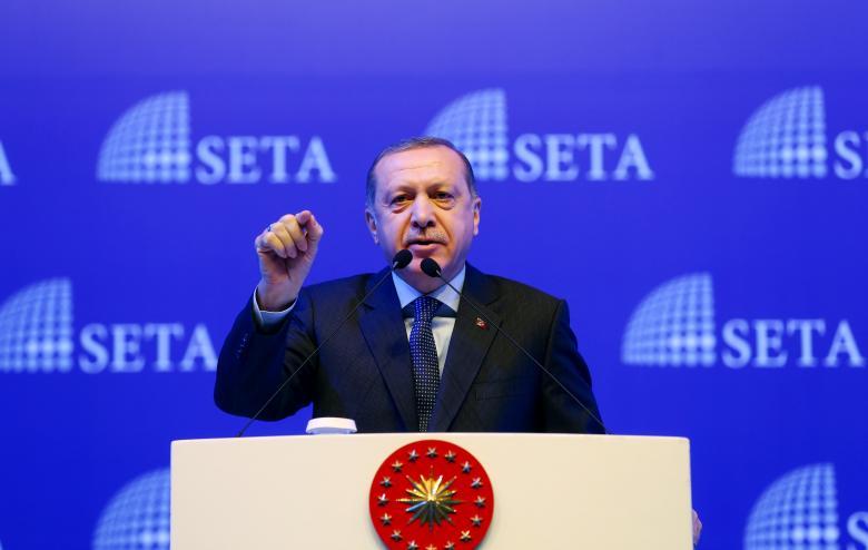 Turkey's Erdogan says aims safe zone in Syria after Raqqa operation