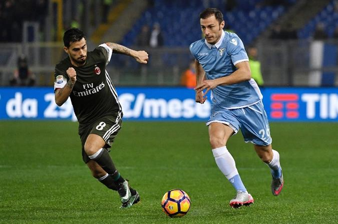 Serie A: Suso sizzler salvages Milan draw at Lazio