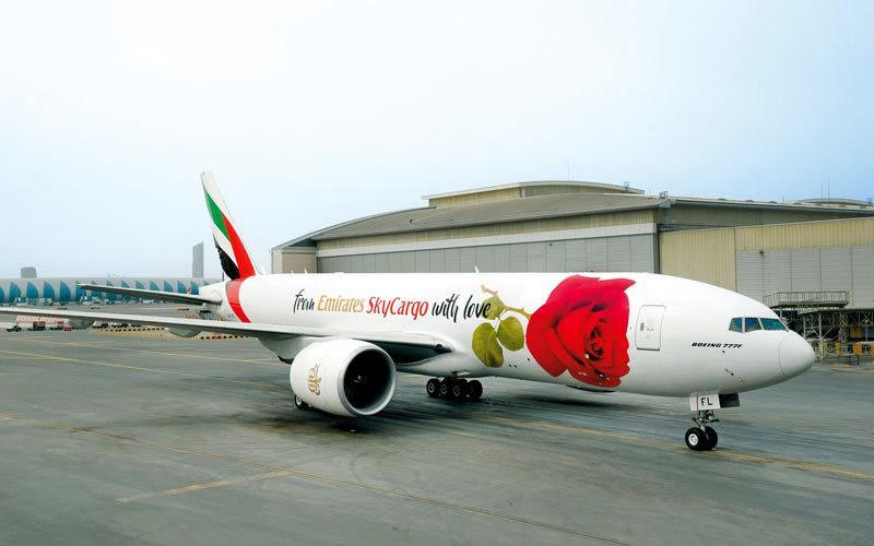 Emirates SkyCargo celebrates Valentine