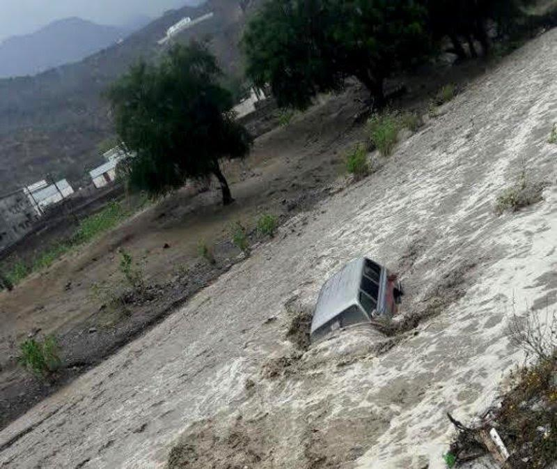 Schools closed after heavy rainfall causes flooding in Saudi Arabia