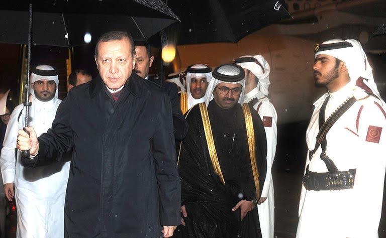Turkish President arrives in Qatar
