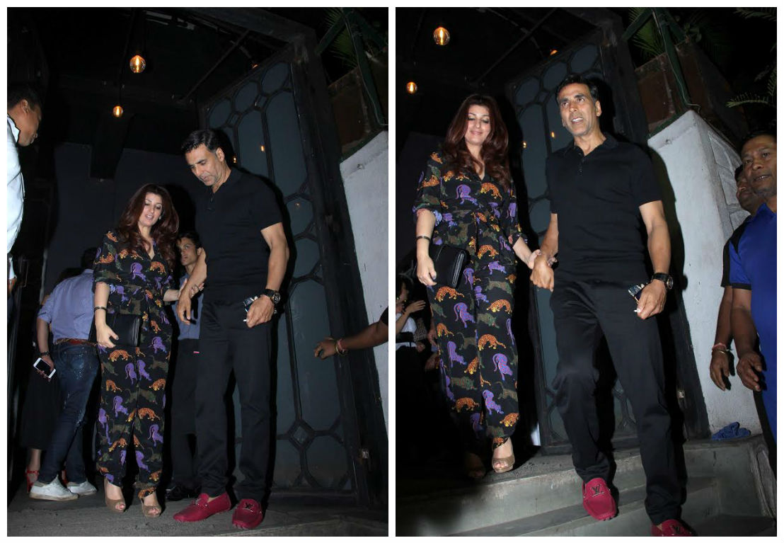 Valentine's Day: Akshay Kumar takes wife Twinkle on a dinner date