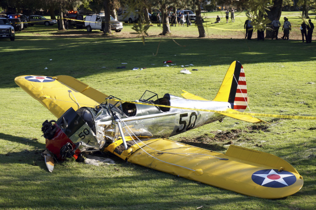 Harrison Ford has jet run-in at California airport