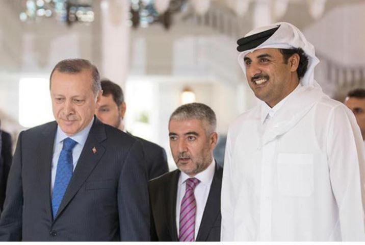 Qatari Amir, Turkish President hold talks
