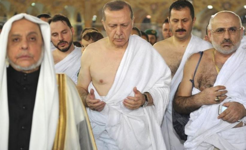 In Pictures: Turkish President performs Umrah