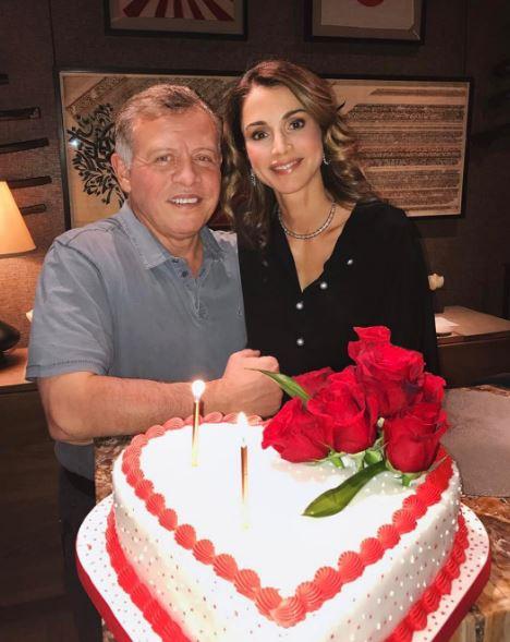 Jordan's King, Queen celebrate Valentine's Day