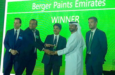 Berger's 'Colours of Arabia' wins top CSR award