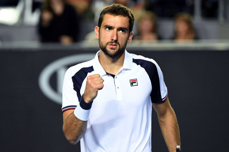 Cilic downs Coric to reach Rotterdam quarters