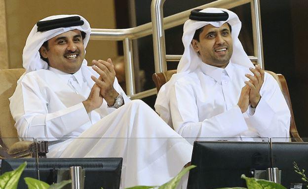 Qatari Amir attends Total Open quarter-final