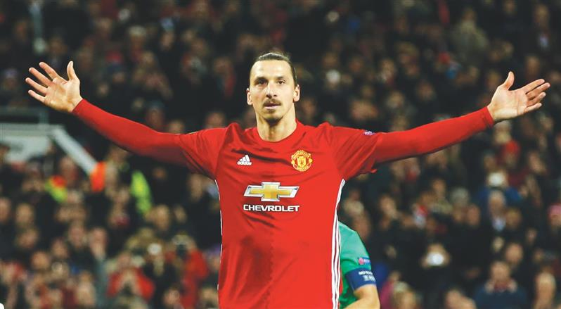 Ibrahimovic, a real life hero after scoring his first hat-trick