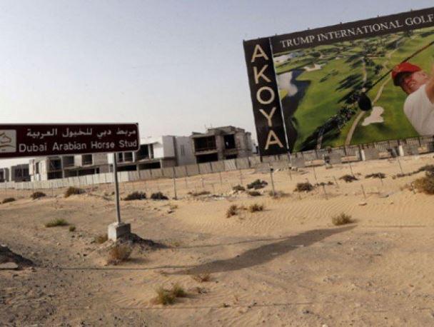 Golf club brings Trump brand to Dubai