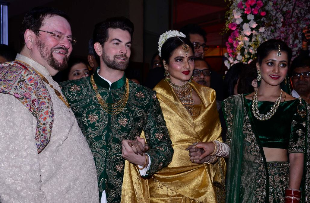 Bollywood Photos B Salman Khan Katrina Kaif At Neil Nitin Mukesh S Wedding Reception