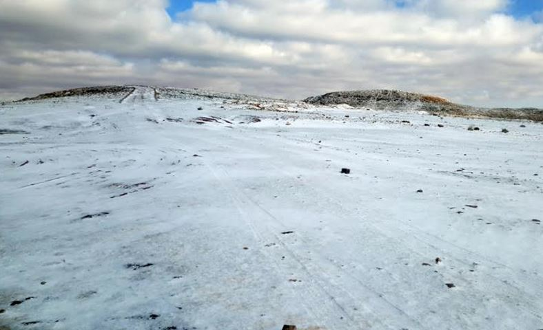In Pictures: Snow blankets northwestern province of Tabuk
