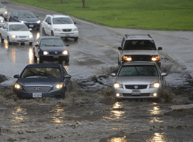 Two dead as storm lashes Southern California