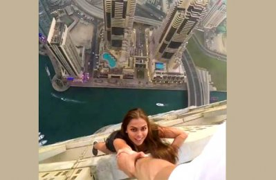 Cayan to sue Russian model over Dubai tower stunt