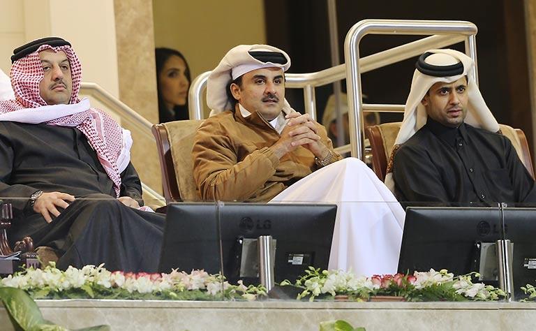 Qatari Amir attends Qatar Open women's final