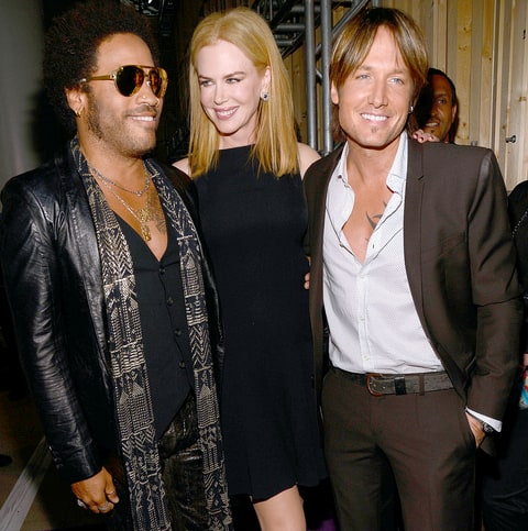 Nicole Kidman reveals she was once engaged to musician Lenny Kravitz