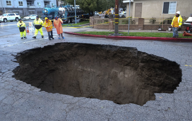 Biggest storm in five years thrashes Southern California