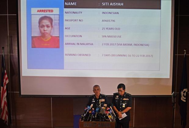 Malaysian police seeking four more North Koreans in Kim killing