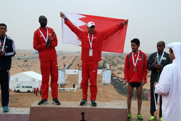 Bahraini athletes lift gold in Sharjah